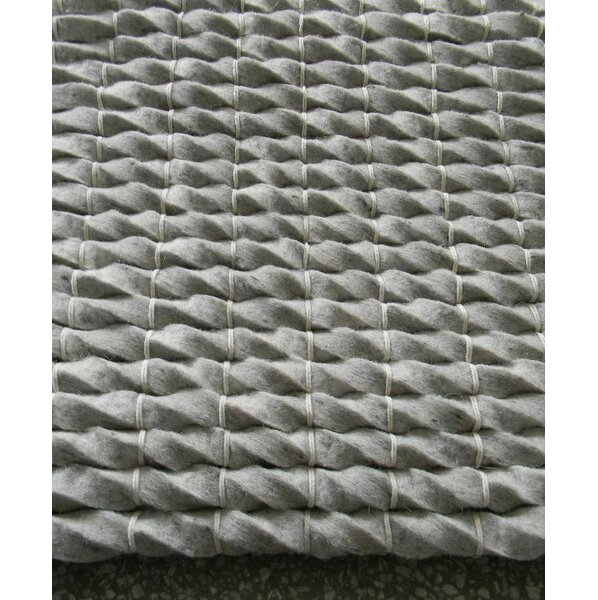 Tides Silver Area Rug by Modern Rugs