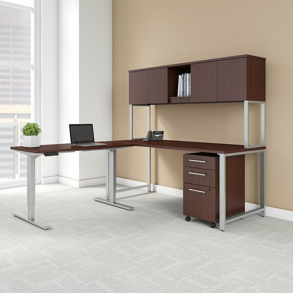 400 Series 3 Piece L-Shape Desk Office Suite by Bush Business Furniture