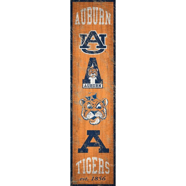 NCAA Heritage Graphic Art Print on Wood by Fan Cre