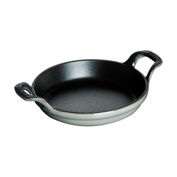 Cast Iron 6 Round Gratin Baking Dish by Staub