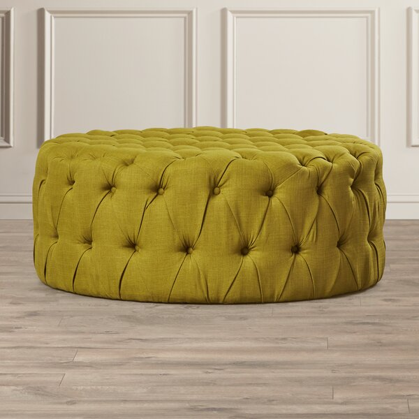 Belmont Tufted  Cocktail Ottoman