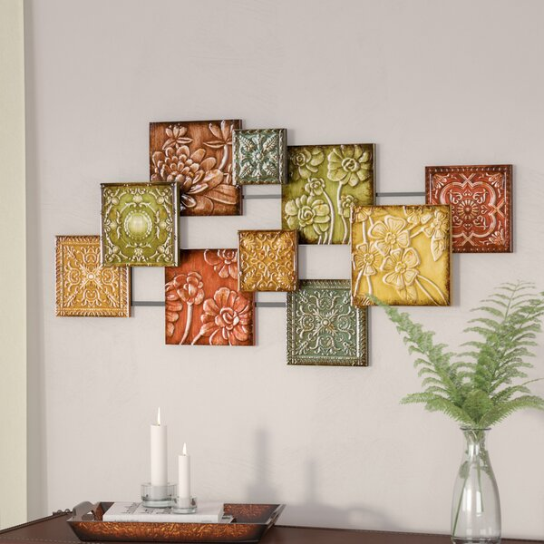 Hodges Square Panel Wall Décor by Three Posts