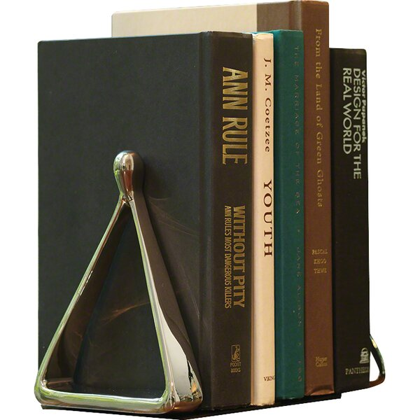 Olmos Stirrup Book End (Set of 2) by Brayden Studio