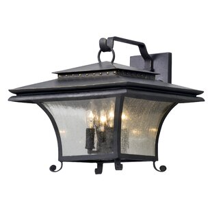 Price Check Colesville 4-Light Outdoor Wall Lantern By Fleur De Lis Living