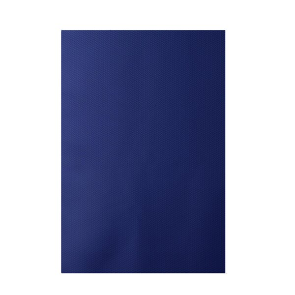 Chevron Royal Blue Indoor/Outdoor Area Rug by e by design