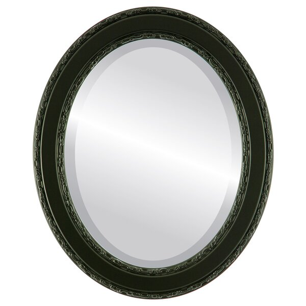Regent Framed Oval Accent Mirror by Astoria Grand