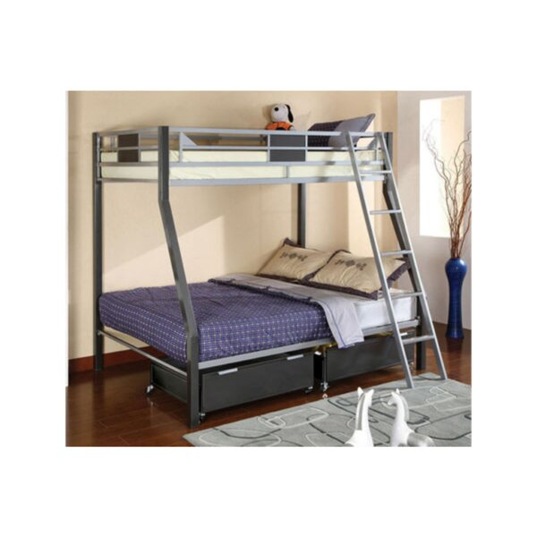 Mirfield Twin over Full Bunk Bed by Harriet Bee