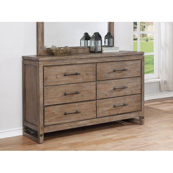 Martelli 6 Drawer Double dresser by Gracie Oaks