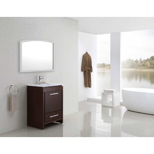 Reviews Cataldo Birch Wood-Veneer Wall Mirror ByRoyal Purple Bath Kitchen