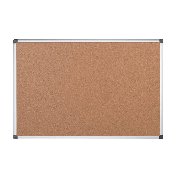 Wall Mounted Bulletin Board, 47.2 x 47.2 by Mastervision