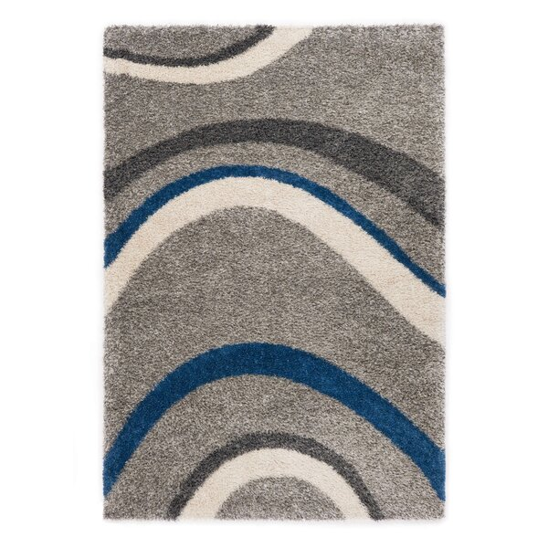 Ocean Gray/Blue Area Rug by Rug Modern