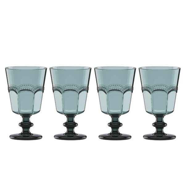 French Perle Acrylic 8 oz. All Purpose Goblet (Set of 4) by Lenox
