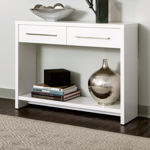 ClosetMaid White Console Tables