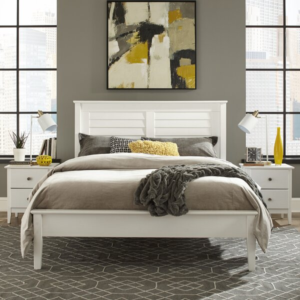 Greenport Queen Platform Bed by Grain Wood Furniture