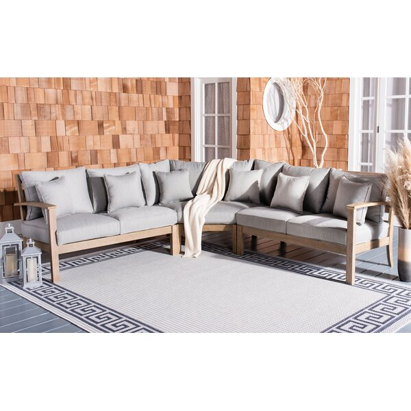 Ryde Patio Sectional with Cushions