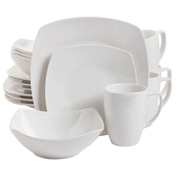Weigle 16 Piece Dinnerware Set, Service for 4 by Latitude Run