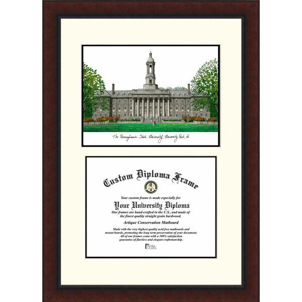 NCAA Penn State University Legacy Scholar Diploma Picture Frame by Campus Images