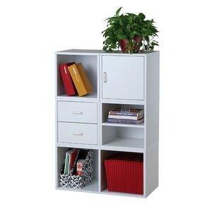 Fowler Storage Cube Unit Bookcase ByRebrilliant