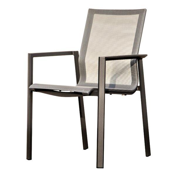 Raffertie Patio Dining Chair (Set of 2) by Latitude Run
