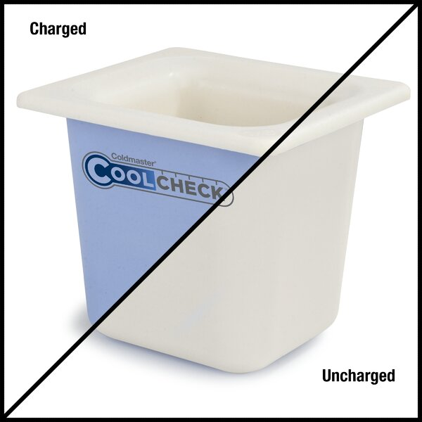 Coldmaster® Cool Check Food Pan 51.2 Oz. Food Storage Container by Carlisle Food Service Products