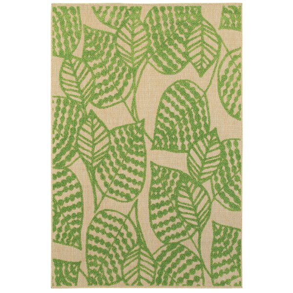 Ledyard Green Indoor/Outdoor Area Rug by Bay Isle Home