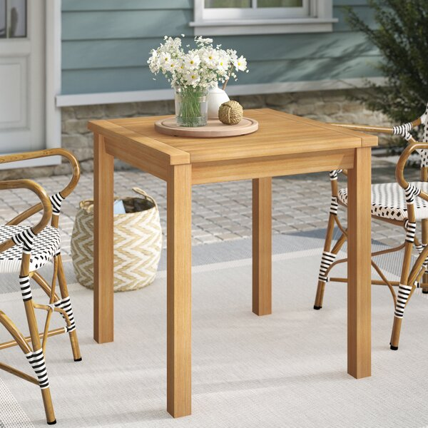 Myres Darrie Wooden Dining Table by Beachcrest Home