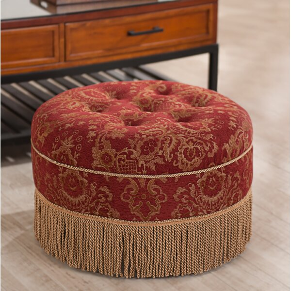 Kendari Cocktail Ottoman by Astoria Grand