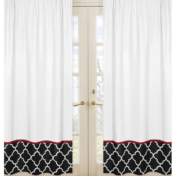 Trellis Curtain Panels (Set of 2) by Sweet Jojo Designs