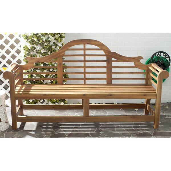 Acacia Wood Garden Bench by Birch Lane™