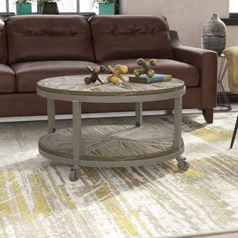 Gracie Oaks Macsen Edwards Lift Top Coffee Table With Storage
