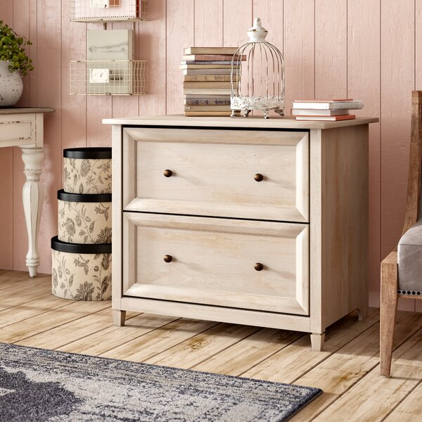 Lemire 2 Drawer Filing Cabinet by Lark Manor