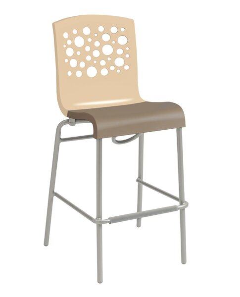 Leigh Woods Stacking Bar Stool by Latitude Run