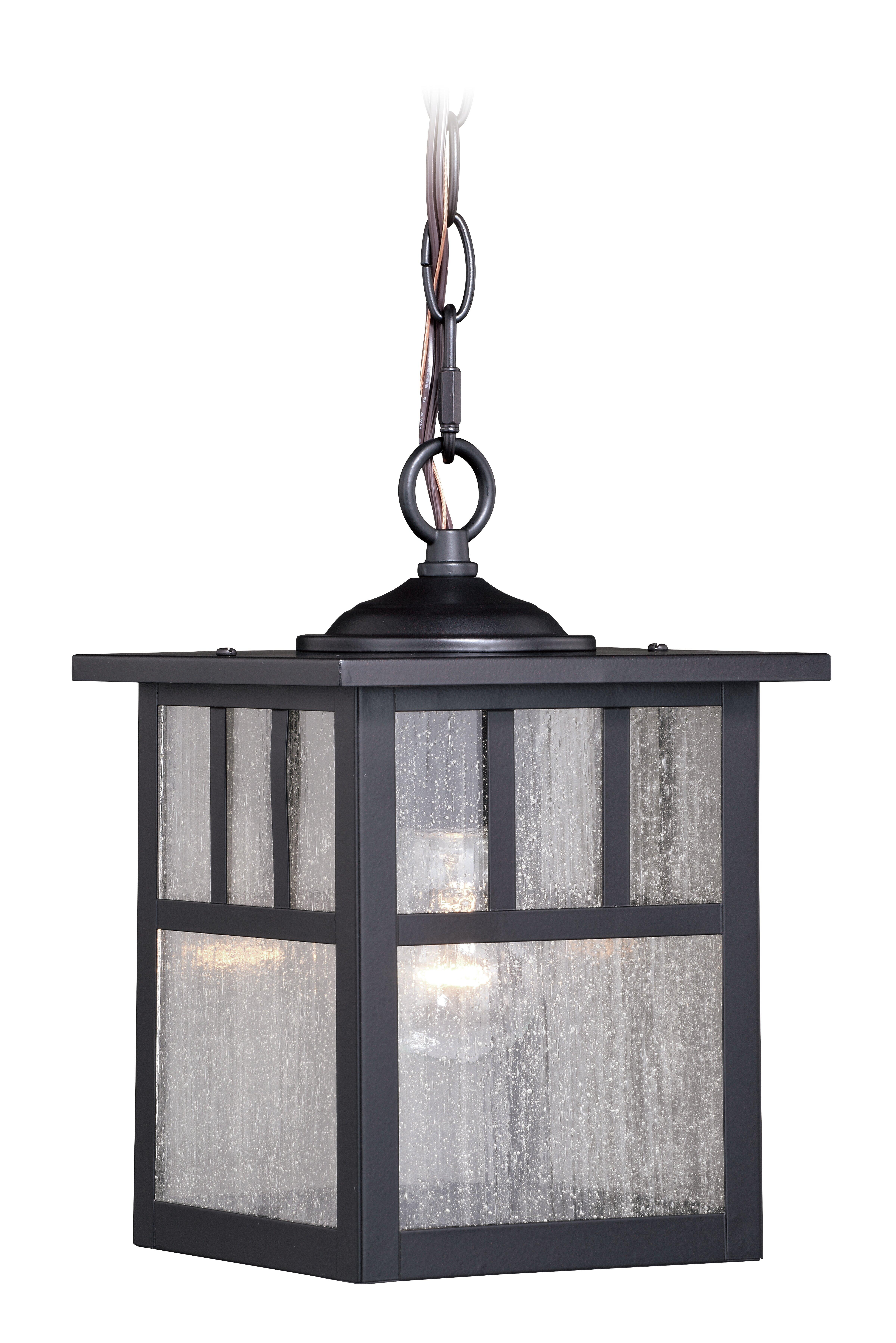 Loon Peak Joelle 1 Light Outdoor Hanging Lantern Wayfair