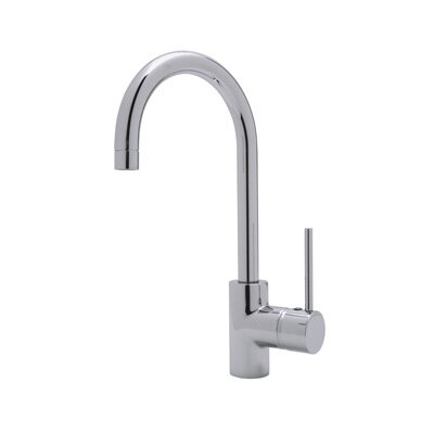 Modern One Handle Architectural Single Hole Bar Faucet by Rohl