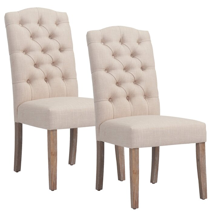 Marvelous Adan Upholstered Dining Chair Pabps2019 Chair Design Images Pabps2019Com