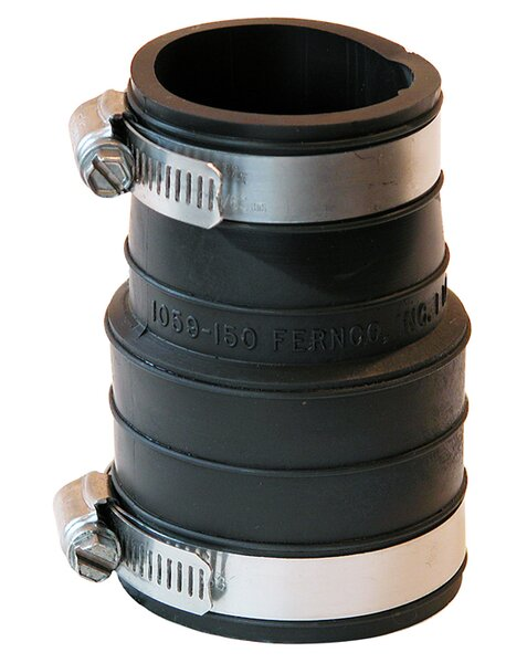Flexible Coupling Repair Fitting by Fernco