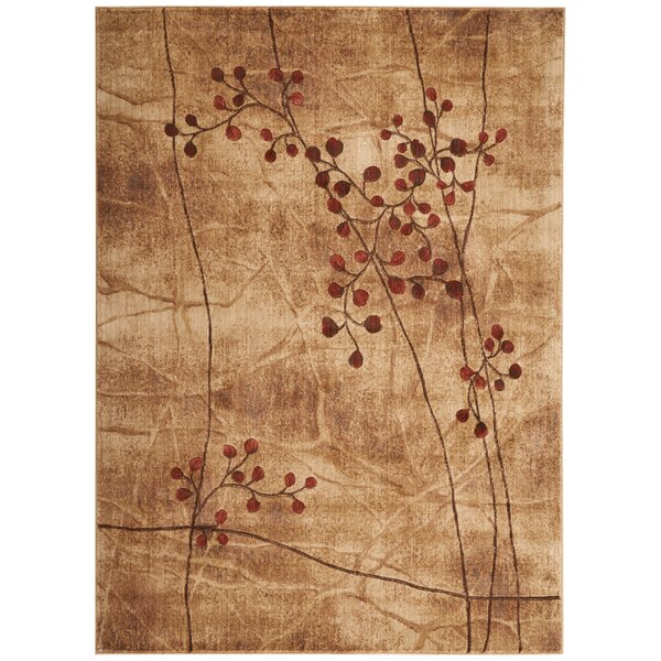 Smithtown Latte Area Rug by Andover Mills
