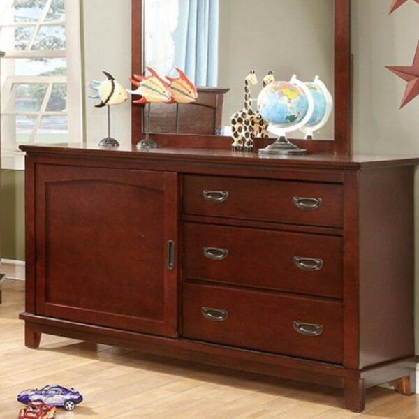 Altieri 3 Drawer Combo Dresser by Harriet Bee