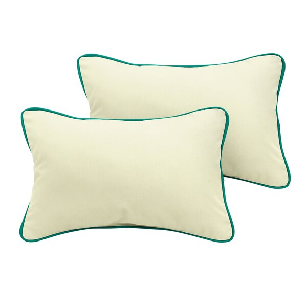 Pecoraro Sunbrella Outdoor Lumbar Pillow (Set of 2) by Latitude Run