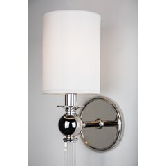 Crystal Polished Nickel Wall Sconces You Ll Love In 2020 Wayfair