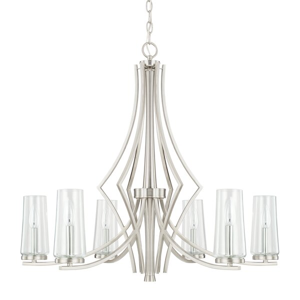 Mollie 6-Light Shaded Chandelier by Latitude Run