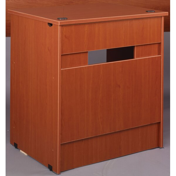 Library 40 H x 36 W Desk Return by Stevens ID Systems