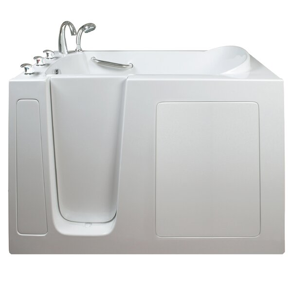 Narrow Wide Hydrotherapy Massage Whirlpool Walk-In Tub by Ella Walk In Baths