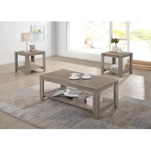 Compare prices Hille 2 Piece Coffee Table Set ByHighland Dunes