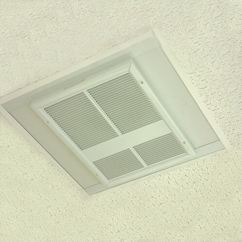 Commercial Ceiling Mounted Electric Fan Wall Insert Heater by TPI