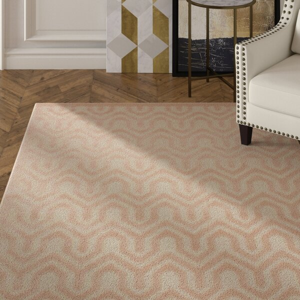 Beaconsfield Ivory/Sand Area Rug by Mercer41
