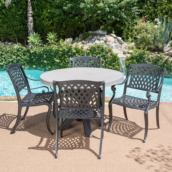 Victoria 5 Piece Dining Set by Darby Home Co
