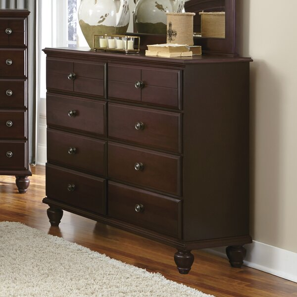 Joel 8 Drawer Double Dresser by Rosalind Wheeler