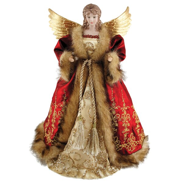 Imperial Angel Tree Topper by Astoria Grand
