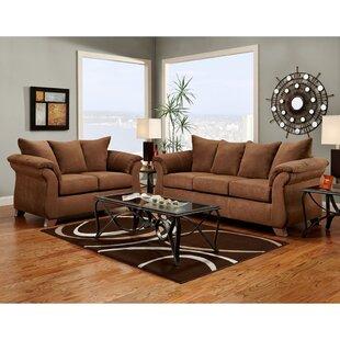 Denys 3 Piece Living Room Set Red Barrel Studio Best Prices.